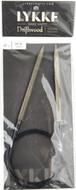 "LYKKE Driftwood 40"" Circular Knitting Needle (Size US 10 - 6 mm)"