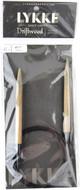 "LYKKE Driftwood 40"" Circular Knitting Needle (Size US 11 - 8 mm)"