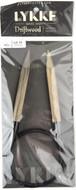 "LYKKE Driftwood 40"" Circular Knitting Needle (Size US 15 - 10 mm)"