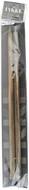 "LYKKE Driftwood 2-Pack 14"" Straight Single Pointed Knitting Needle (Size US 17 - 12 mm)"
