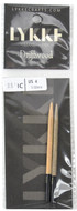 "LYKKE Driftwood 2-Pack 3.5"" Interchangeable Circular Knitting Needles (Size US 4 - 3.5 mm)"