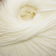 Cascade White 220 Superwash Yarn (4 - Medium)