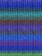 Noro #40 Blue, Green, Purple, Kureyon Yarn (4 - Medium)