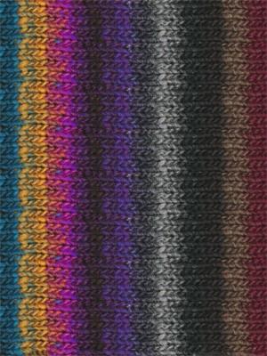 Noro #310 Purple,Yellow, Blue, Grey, Kureyon Yarn (4 - Medium)