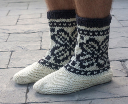 Tin Can Knits Mukluks Knitting Pattern Free Shipping At Yarn Canada