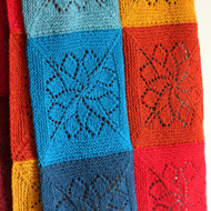 Tin Can Knits Vivid Blanket Knitting Pattern