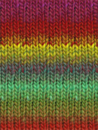 #272 Red, Purple, Green, Yellow, Kureyon Yarn (4 - Medium) by Noro