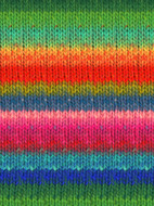 Noro #362 Green, Red, Blue, Pink, Kureyon Yarn (4 - Medium)
