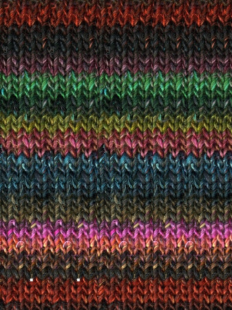 Noro #211 Turquoise, Fuschia, Gold Silk Garden Yarn (4 - Medium)