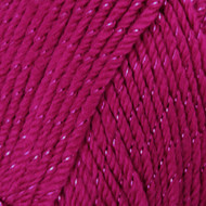 Caron Fuchsia Sparkle Simply Soft Party Yarn (4 - Medium)