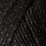 Caron Black Sparkle Simply Soft Party Yarn (4 - Medium)