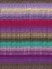 Noro #349 Purple, Red, Teal, Brown Kureyon Yarn (4 - Medium)