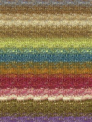 Noro #279 Browns, Blues, Deep Rose Silk Garden Sock Yarn (1 - Super Fine)