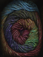 Noro #314 Purple, Green, Gold Silk Garden Yarn (4 - Medium)