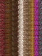 Noro #364 Brown, Wine, Cream Silk Garden Yarn (4 - Medium)