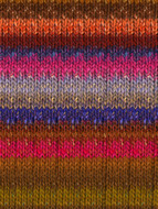 Noro #423 Brown, Bronze, Pink, Blue Silk Garden Yarn (4 - Medium)
