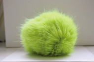 Bernat Bright Green Faux Fur Pompom