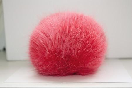 Bernat Coral Faux Fur Pompom