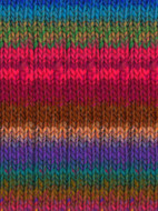 Noro #367 Pinks, Green, Blue, Brown Kureyon Yarn (4 - Medium)