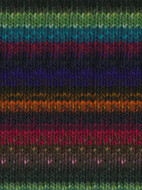 Noro #368 Blues, Green, Pink, Orange Kureyon Yarn (4 - Medium)