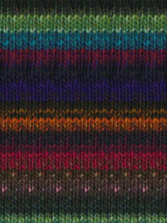 Noro #368 Blues, Green, Pink, Orange Kureyon Yarn (4 - Medium)