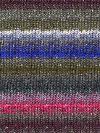 Noro #397 Grey, Pink, Blue Silk Garden Sock Yarn (1 - Super Fine)