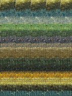 Noro #360 Black, Olive, Gold Silk Garden Sock Yarn (1 - Super Fine)