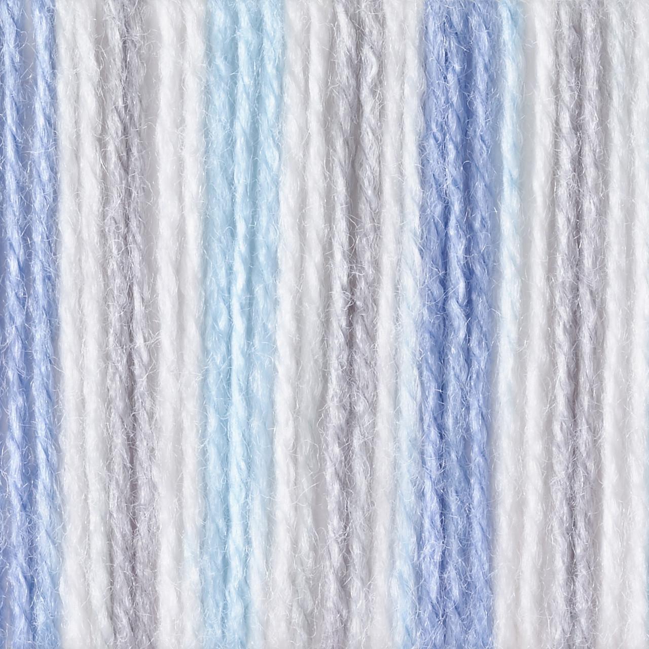 Bernat Blue Flannel Softee Baby Yarn 3 Light Free