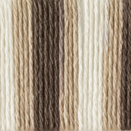 Bernat Chocolate Ombre Handicrafter Cotton Yarn - Big Ball (4 - Medium)