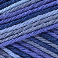 Blue Camo Ombre Handicrafter Cotton Yarn - Big Ball (4 - Medium) by Bernat
