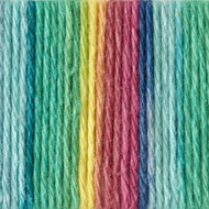 Bernat Psychedelic Ombre Handicrafter Cotton Yarn - Big Ball (4 - Medium)