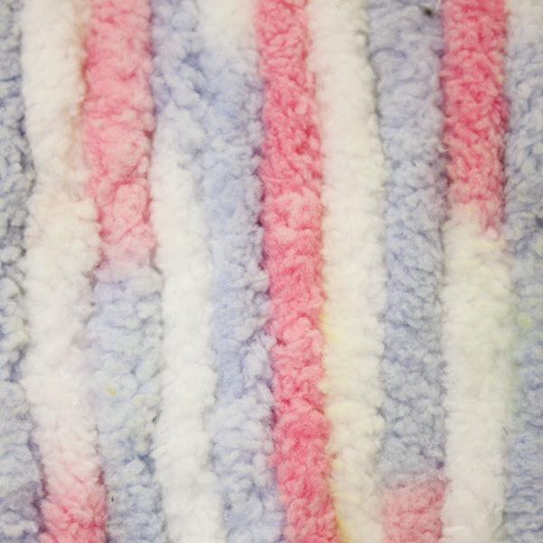 Bernat Pink Blue Ombre Baby Blanket Yarn Big Ball 6