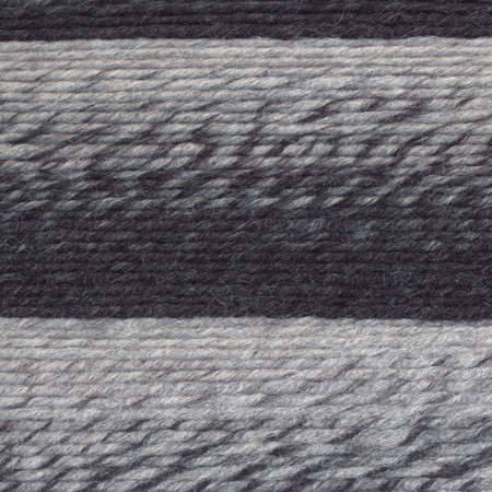 Lion Brand Silver Charcoal Scarfie Yarn 5 Bulky Free