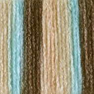 Bernat Sea Taupe Ombre Super Value Yarn (4 - Medium)