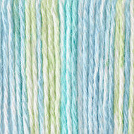 Bernat Country Stripes Handicrafter Cotton Yarn - Small Ball (4 - Medium)