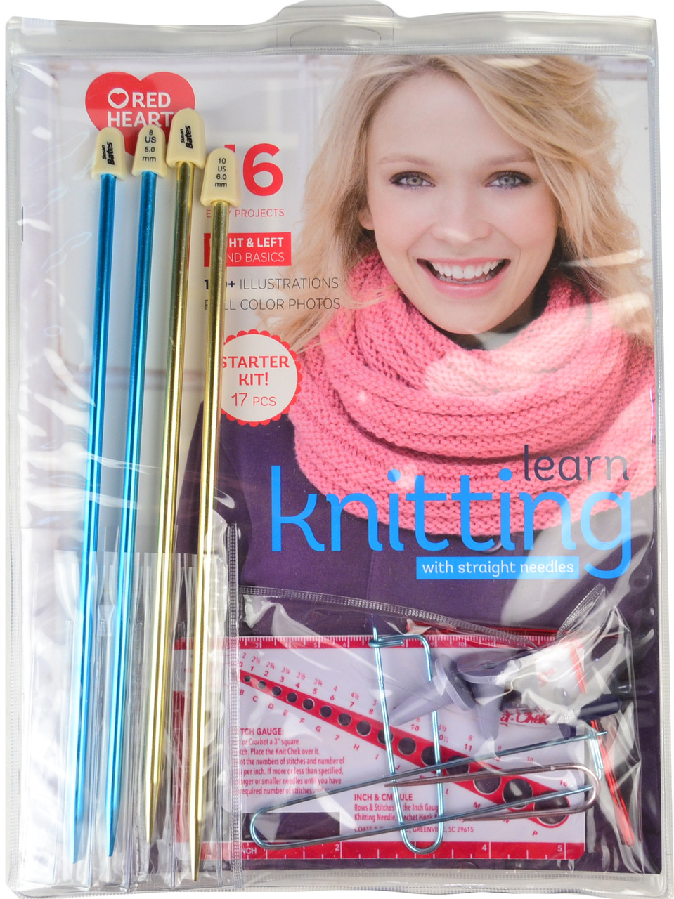 Red Heart Learn Knitting Kit Free Shipping At Yarn Canada
