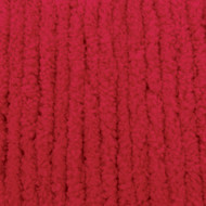 Bernat Race Car Red Blanket Yarn - Small Ball (6 - Super Bulky)