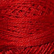 Valdani Christmas Red Perle Cotton - Size 12 (Thread)