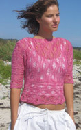 Ilga Leja Handknit Design Sea Urchin  Shirt Pattern