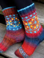Ilga Leja Handknit Design Fairground Socks Socks Pattern