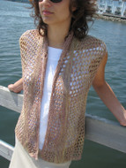Ilga Leja Handknit Design Afternoon Breezes Vest Pattern