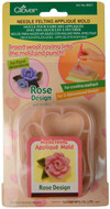 Clover Rose Needle Felting Mold