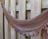Purl Diving Patterns Aldred Scarf