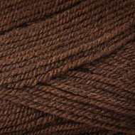 Plymouth Deep Brown Encore Worsted Yarn (4 - Medium)