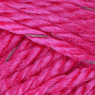 Red Heart Yarn Neon Pink Reflective Yarn (5 - Bulky)