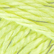 Red Heart Yarn Neon Yellow Reflective Yarn (5 - Bulky)