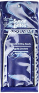 "Susan Bates Quicksilver 24"" Circular Knitting Needle (Size US 4 - 3.5 mm)"