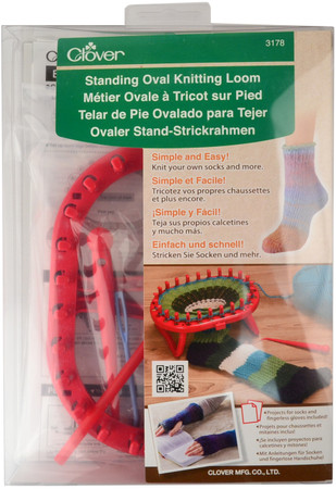 Clover Standing Oval Knitting Loom Free Shipping At Yarn Canada