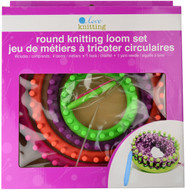 Round Knitting Loom - Set Of 4 - Primary Colours by Love Knitting