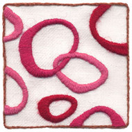 "Wool & Hoop Love Loops Crewel Embroidery Kits (3"" X 3"")"